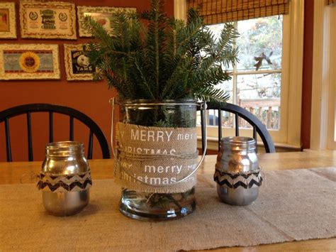 kitchen table centerpiece holiday pinterest seasons