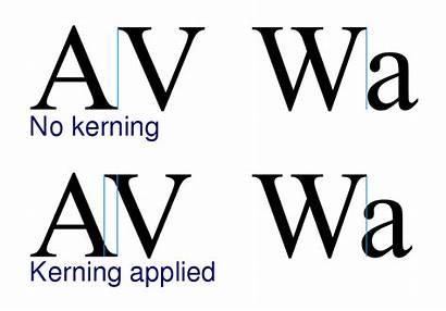 Kerning Wikipedia