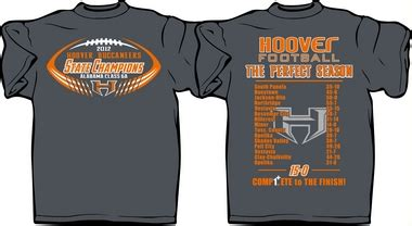 high school football tshirt designs hoover high launches sales of state chionship t shirts