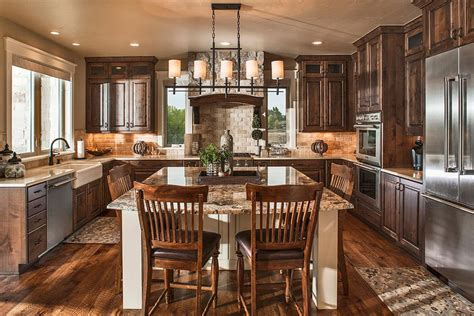 one house plans with large kitchens craftsman house plans the plan collection