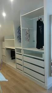Ikea Meuble Dressing : adapter un dressing ikea en sous pente walk in wardrobes wardrobe closet wardrobe ~ Dode.kayakingforconservation.com Idées de Décoration