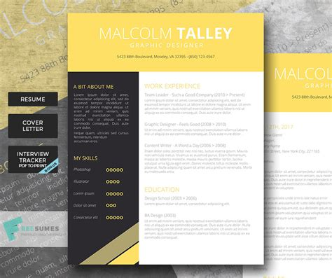 Easy Way To Make A Resume by Make Your Resume Pop With The Graduate Premium Resume Template