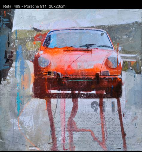 racing legends paintings perfectly recreate famous