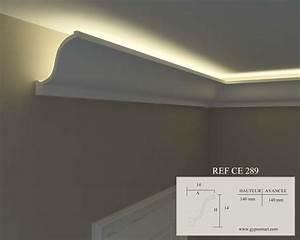Eclairage Indirect Plafond : corniche lumineuse couloir home decor ceiling et decor ~ Melissatoandfro.com Idées de Décoration