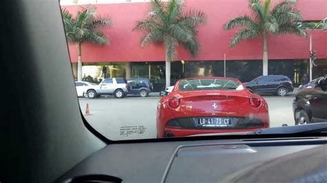 ferrari california luanda    youtube