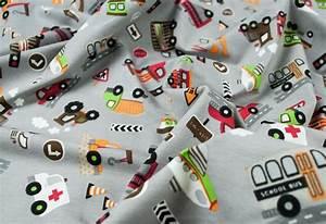 Jersey Stoffe Kinder : jersey stoff fahrzeuge online kaufen ~ Markanthonyermac.com Haus und Dekorationen
