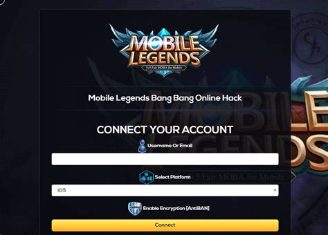 Mobile Legends Bang Bang Hack And Cheats For Ios And