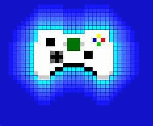 Controle Xbox360 Pixel Art Desenho De Stefne13 Gartic