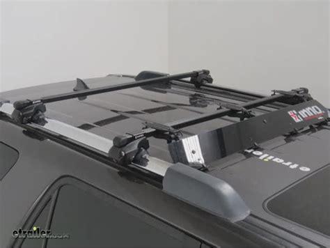 roof rack fairing inno fairing for roof racks 31 quot black inno