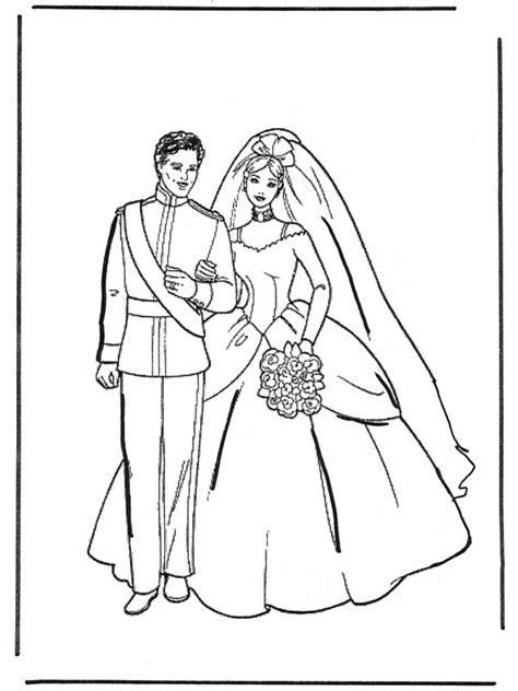 coloring pages marriage marriage