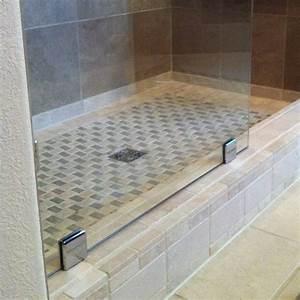 Tile shower pan for Tile shower pan