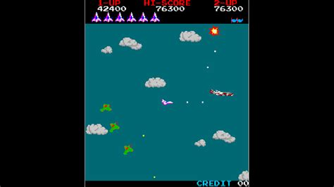 Arcade Archives Time Pilot For Nintendo Switch Nintendo