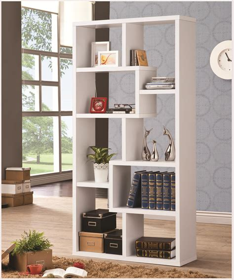 Bookcase White by Coaster Bookcases 800136 Cubed Rectangular