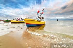 Fototapete Strand Ostsee : fototapete fischerboote am strand von ostsee in polen pixers wir leben um zu ver ndern ~ Frokenaadalensverden.com Haus und Dekorationen