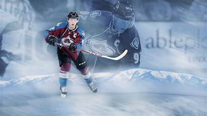 Hockey Gabriel Player Landeskog Wallpapers Ice Background