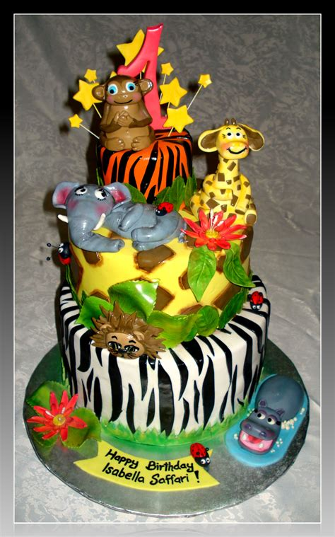 Jungle Cake Vancouvercakes