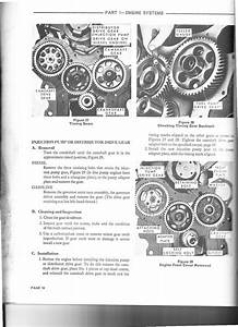 Timing Sequence For A Ford 400 Diesel 3cly Tractor