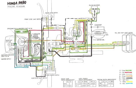 wiring diagrams a to z for thee 171 myrons mopeds