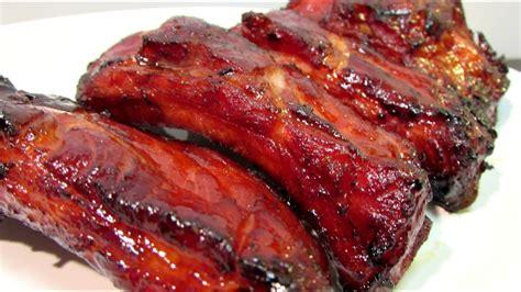 chinese bbq pork ribs char siu chinese