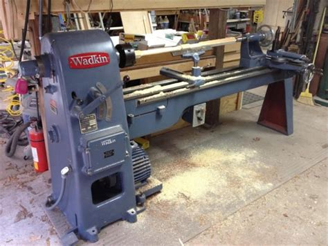 photo index wadkin  patternmakers lathe
