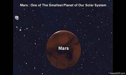 Mars Smallest Planet Solar System Animated Facts
