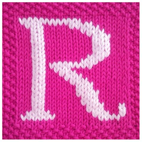 knitting pattern capital letter  afghan  fionakelly  knitting patterns