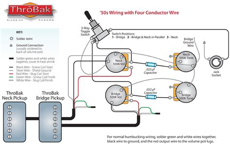 Wiring Diagram For Standard Classic Pickups