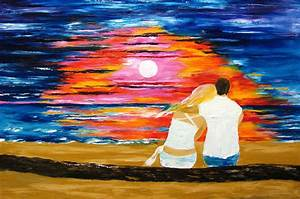 Summer Love Painting by Mariana Stauffer