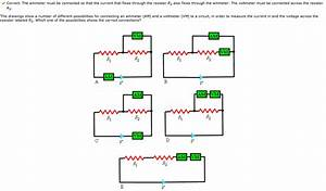 Current Must Flow Through The Ammeter In Order To Reach The Circuit