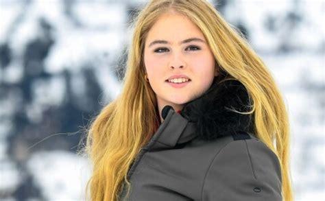 Daiļā Nīderlandes princese Katarīna Amālija un viņas ...