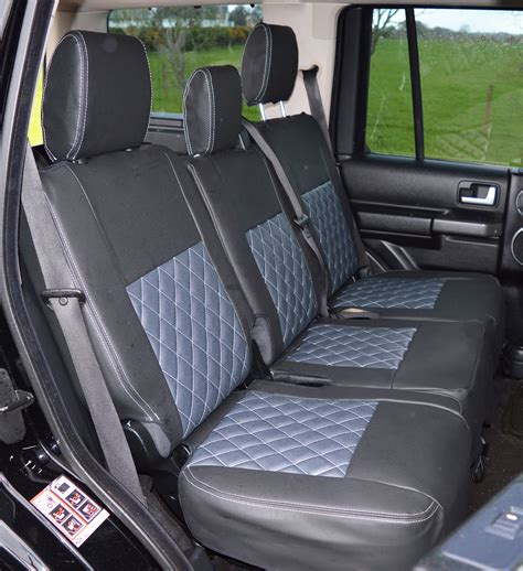 3 Seat Covers by Land Rover Discovery 3 5 Seater Tailored Quilted