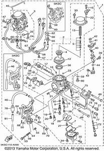 Yamaha Motorcycle 2002 Oem Parts Diagram For Carburetor