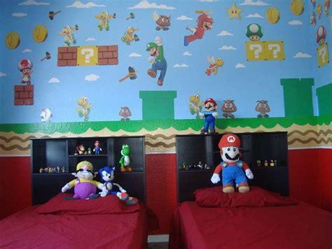 Mario Bros Bedroom by Mario Bros Bedroom Crafts For