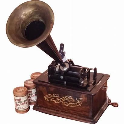Phonograph Edison Standard Wax Three Cylinders Rubylane
