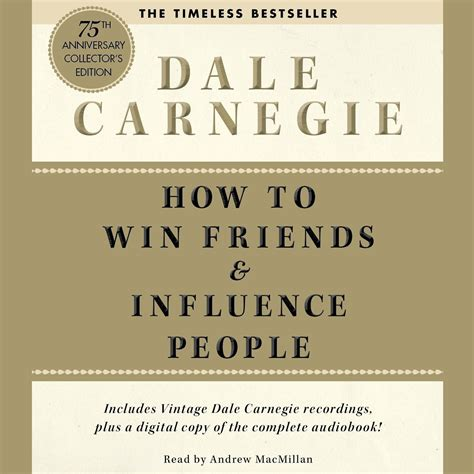 How To Win Friends And Influence Cover Letter by How To Win Friends And Influence Deluxe 75th