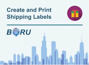 create and print shipping labels boru apps With create and print shipping label