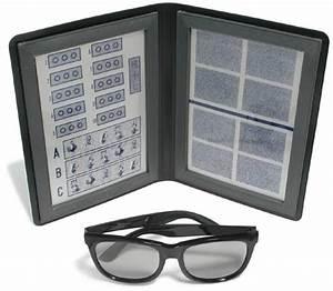 Optical Eye Test Chart Stereo Randot Tests