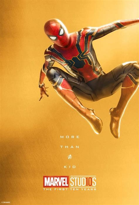 Marvel Studios 10 Year Celebration: Spider-Man Poster ...