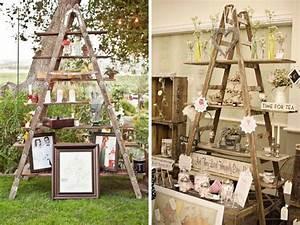 7 idees de recyclage de meubles ou objets en bois pour With lovely exemple plan de maison 3 decoration ceremonie mariage