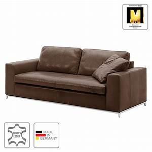 Sofa 3 Sitzer Günstig : sofa concept102 m 3 sitzer echtleder dunkelbraun 1 kissen machalke polsterwerkst tten ~ Bigdaddyawards.com Haus und Dekorationen