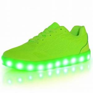 LED Shoes Kids White High