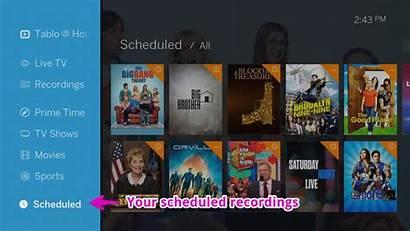 Tablo Dvr Scheduled Tv Recordings Views Chosen