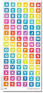 clear stickers uppercase letters numbers 6073 1 sheet With clear letter stickers