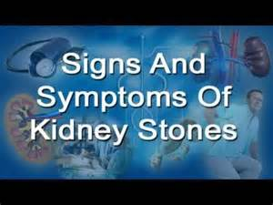 Men Passing Kidney Stones Symptoms