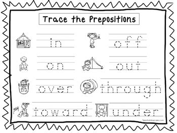 preschool prepositions preposition worksheets preschool preposition best free 900