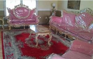 Plastic covered furniture are you still around for Plastic furniture for living room