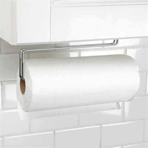 towel holder for kitchen cabinets paper towel holders kitchen wall mount wow 8562
