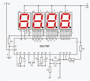 Digital Voltmeter For Power Supply