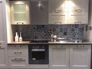 credence cuisine carreaux ciment accueil design et mobilier With carreau ciment credence
