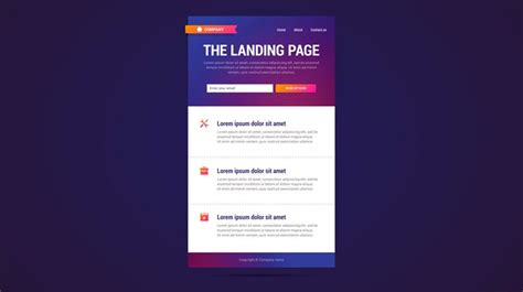 What Landing Page Need One Disruptive
